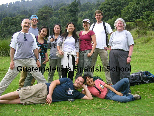 It doesn's matter your age or nationality, you can enjoy and get big benefits with the total immersion program offered by Guatemalensis Spanish School.